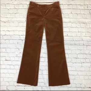 Theory Velour Flare Pants Size 0